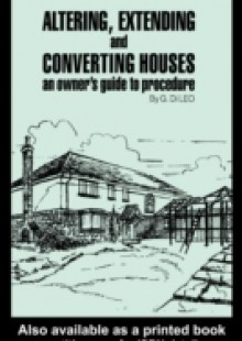 Обложка книги  - Altering, Extending and Converting Houses