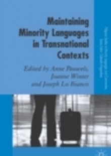 Обложка книги  - Maintaining Minority Languages in Transnational Contexts