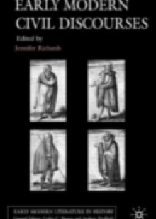 Обложка книги  - Early Modern Civil Discourses