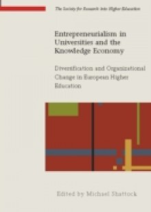 Обложка книги  - Entrepreneurialism In Universities And The Knowledge Economy
