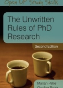 Обложка книги  - The Unwritten Rules Of Phd Research