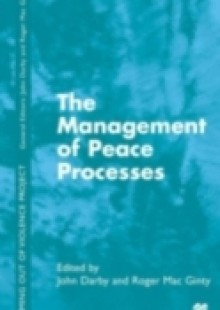 Обложка книги  - Management of Peace Processes