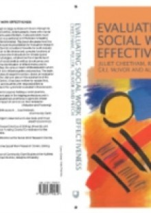 Обложка книги  - Evaluating Social Work Effectiveness