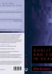 Обложка книги  - Quality, Risk And Control In Health Care