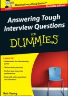 Обложка книги  - Answering Tough Interview Questions for Dummies