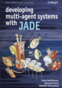 Обложка книги  - Developing Multi-Agent Systems with JADE