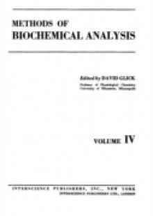 Обложка книги  - Methods of Biochemical Analysis, Volume 4
