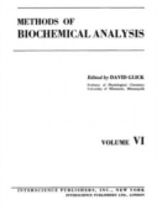Обложка книги  - Methods of Biochemical Analysis, Volume 6