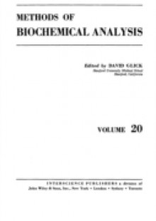 Обложка книги  - Methods of Biochemical Analysis, Volume 20