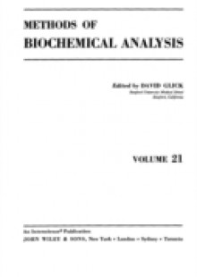 Обложка книги  - Methods of Biochemical Analysis, Volume 21
