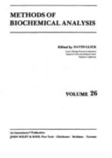 Обложка книги  - Methods of Biochemical Analysis, Volume 26
