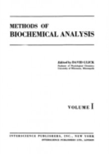Обложка книги  - Methods of Biochemical Analysis, Volume 1