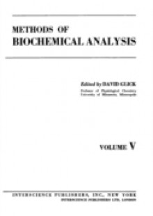 Обложка книги  - Methods of Biochemical Analysis, Volume 5