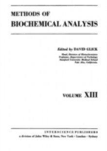 Обложка книги  - Methods of Biochemical Analysis, Volume 13