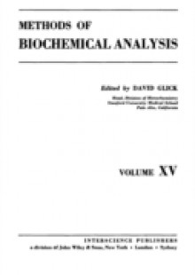 Обложка книги  - Methods of Biochemical Analysis, Volume 15