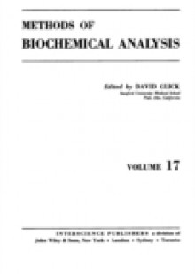Обложка книги  - Methods of Biochemical Analysis, Volume 17