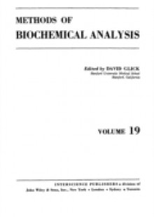 Обложка книги  - Methods of Biochemical Analysis, Volume 19