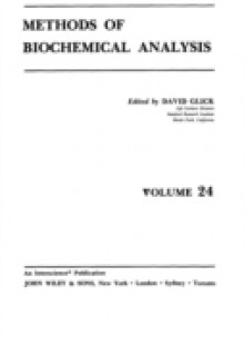 Обложка книги  - Methods of Biochemical Analysis, Volume 24