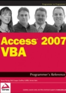 Обложка книги  - Access 2007 VBA Programmer's Reference