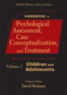 Обложка книги  - Handbook of Psychological Assessment, Case Conceptualization, and Treatment, Volume 2