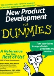 Обложка книги  - New Product Development For Dummies