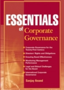 Обложка книги  - Essentials of Corporate Governance