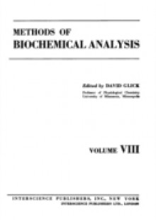 Обложка книги  - Methods of Biochemical Analysis, Volume 8