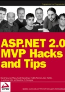 Обложка книги  - ASP.NET 2.0 MVP Hacks and Tips