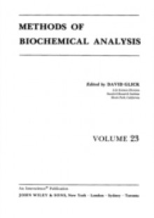 Обложка книги  - Methods of Biochemical Analysis, Volume 23