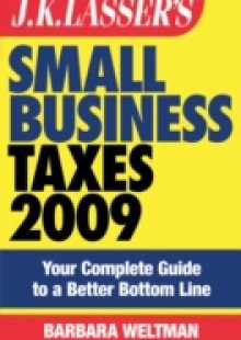 Обложка книги  - JK Lasser's Small Business Taxes 2009