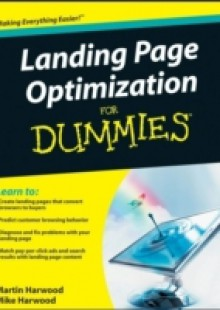 Обложка книги  - Landing Page Optimization For Dummies