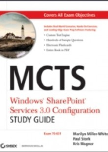 Обложка книги  - MCTS Windows SharePoint Services 3.0 Configuration Study Guide
