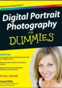 Обложка книги  - Digital Portrait Photography For Dummies