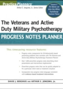 Обложка книги  - Veterans and Active Duty Military Psychotherapy Progress Notes Planner