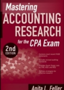 Обложка книги  - Mastering Accounting Research for the CPA Exam