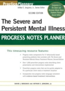 Обложка книги  - Severe and Persistent Mental Illness Progress Notes Planner
