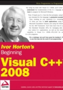 Обложка книги  - Ivor Horton's Beginning Visual C++ 2008