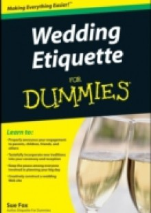 Обложка книги  - Wedding Etiquette For Dummies