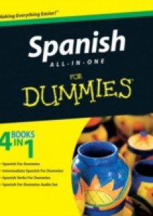 Обложка книги  - Spanish All-in-One For Dummies