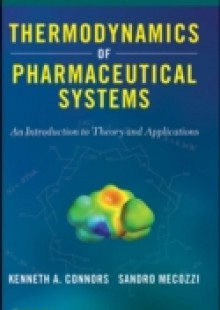 Обложка книги  - Thermodynamics of Pharmaceutical Systems