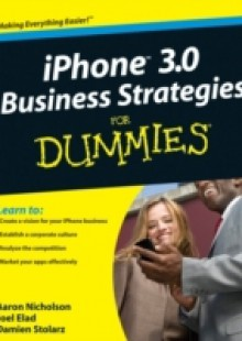 Обложка книги  - iPhone 3.0 Business Strategies For Dummies