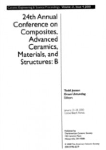 Обложка книги  - 24th Annual Conference on Composites, Advanced Ceramics, Materials, and Structures – B