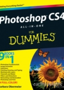 Обложка книги  - Photoshop CS4 All-in-One For Dummies
