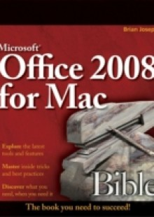 Обложка книги  - Microsoft Office 2008 for Mac Bible