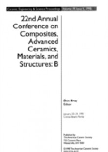 Обложка книги  - 22nd Annual Conference on Composites, Advanced Ceramics, Materials, and Structures – B