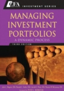 Обложка книги  - Managing Investment Portfolios