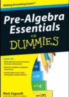 Обложка книги  - Pre-Algebra Essentials For Dummies