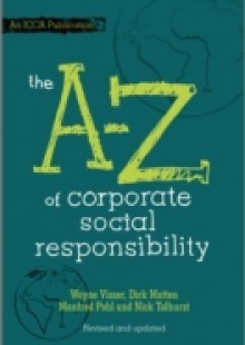 Обложка книги  - A to Z of Corporate Social Responsibility