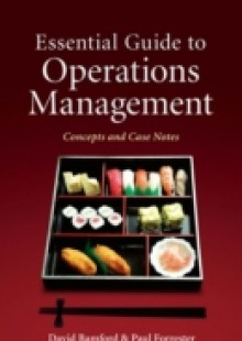 Обложка книги  - Essential Guide to Operations Management