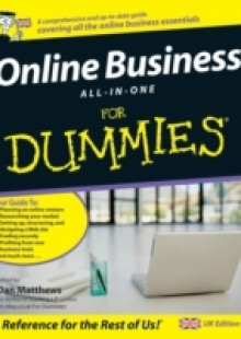 Обложка книги  - Online Business All-In-One For Dummies